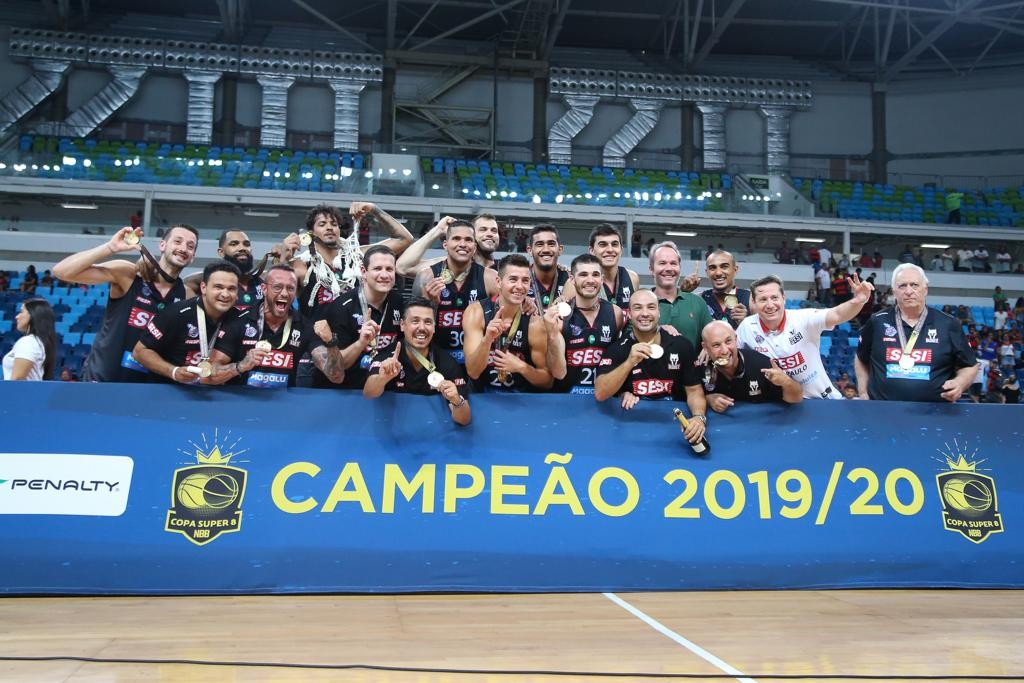 Live do Sesi Franca Basquete traz título do Super 8