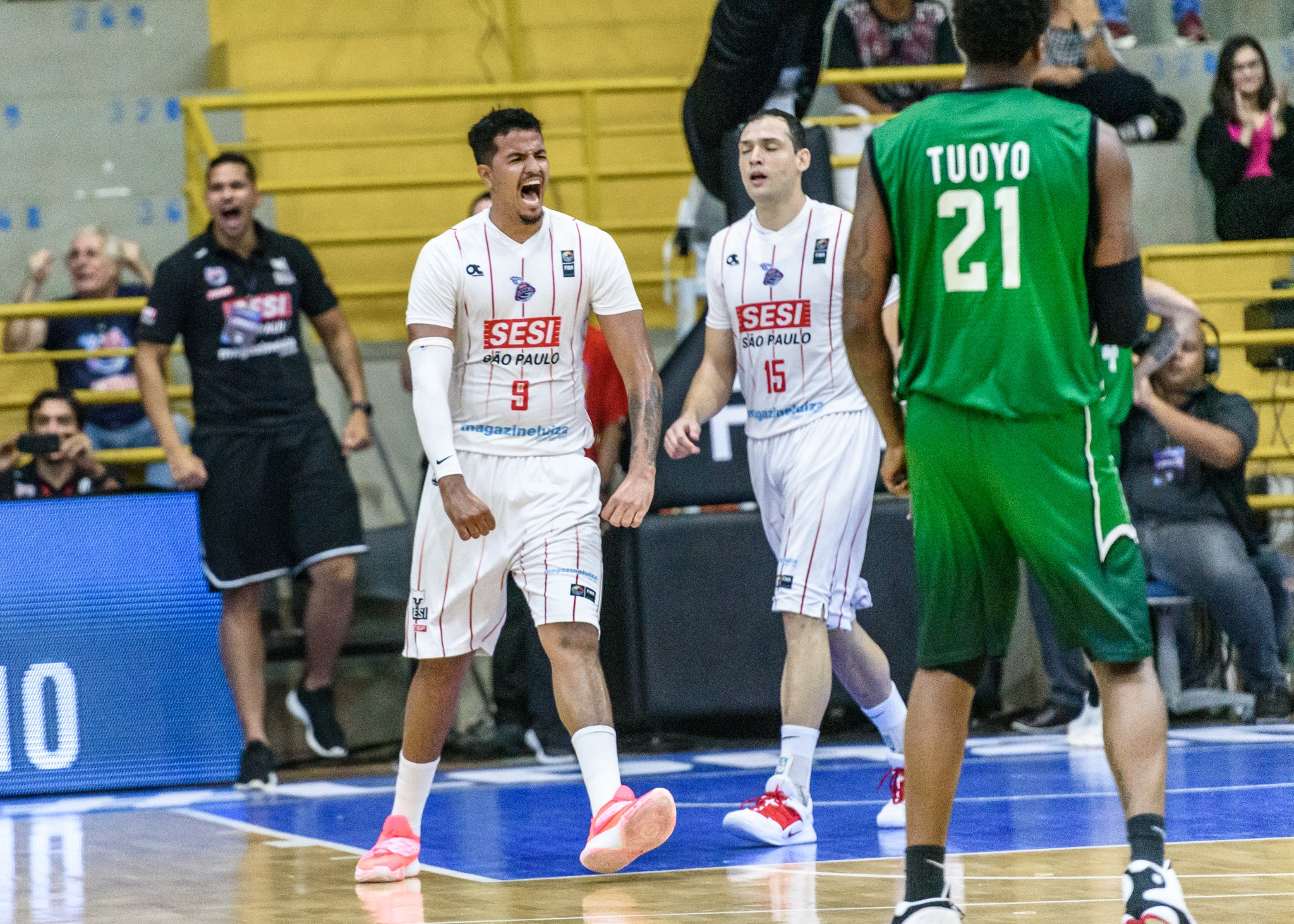 Sesi Franca vence Atenas por ampla vantagem na estreia da semifinal da Liga das Américas