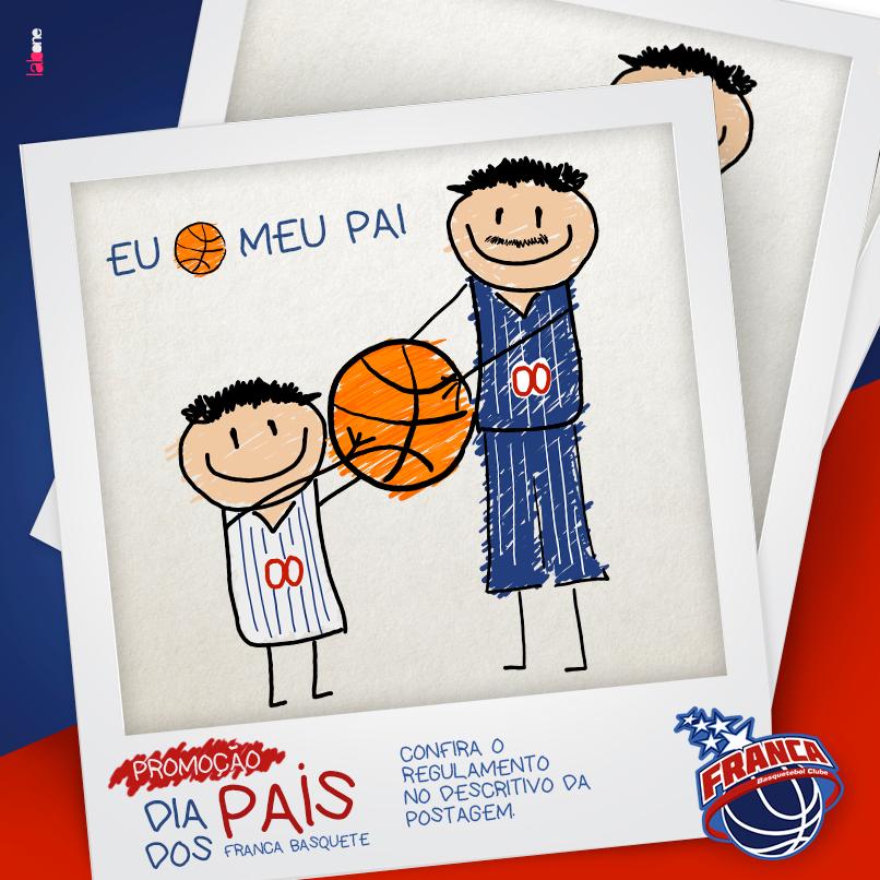 Franca Basquete lança promoção de Dia dos Pais