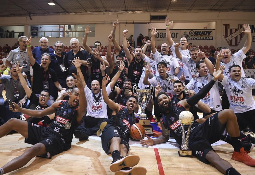 Sesi Franca Basquete é campeão da Liga Sul-Americana 2018