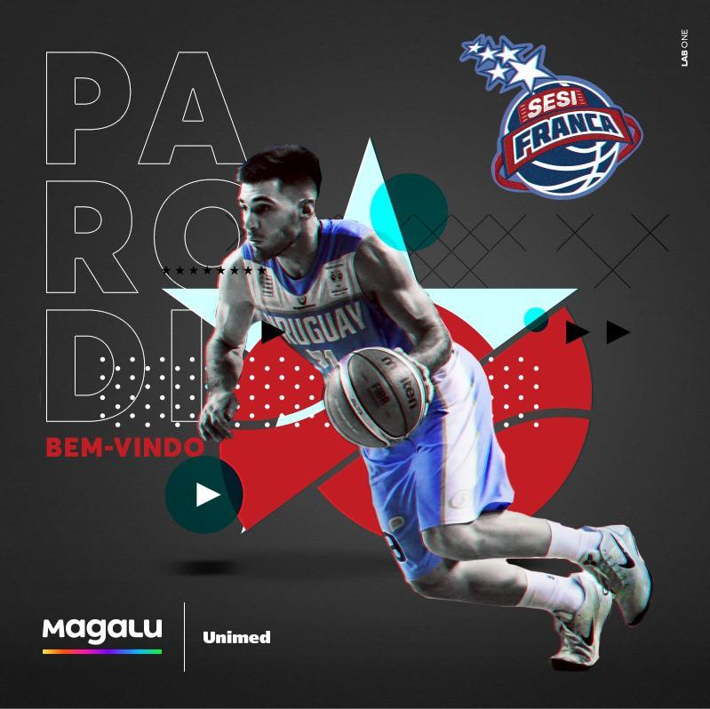 Luciano Parodi é o primeiro reforço do Sesi Franca para a temporada