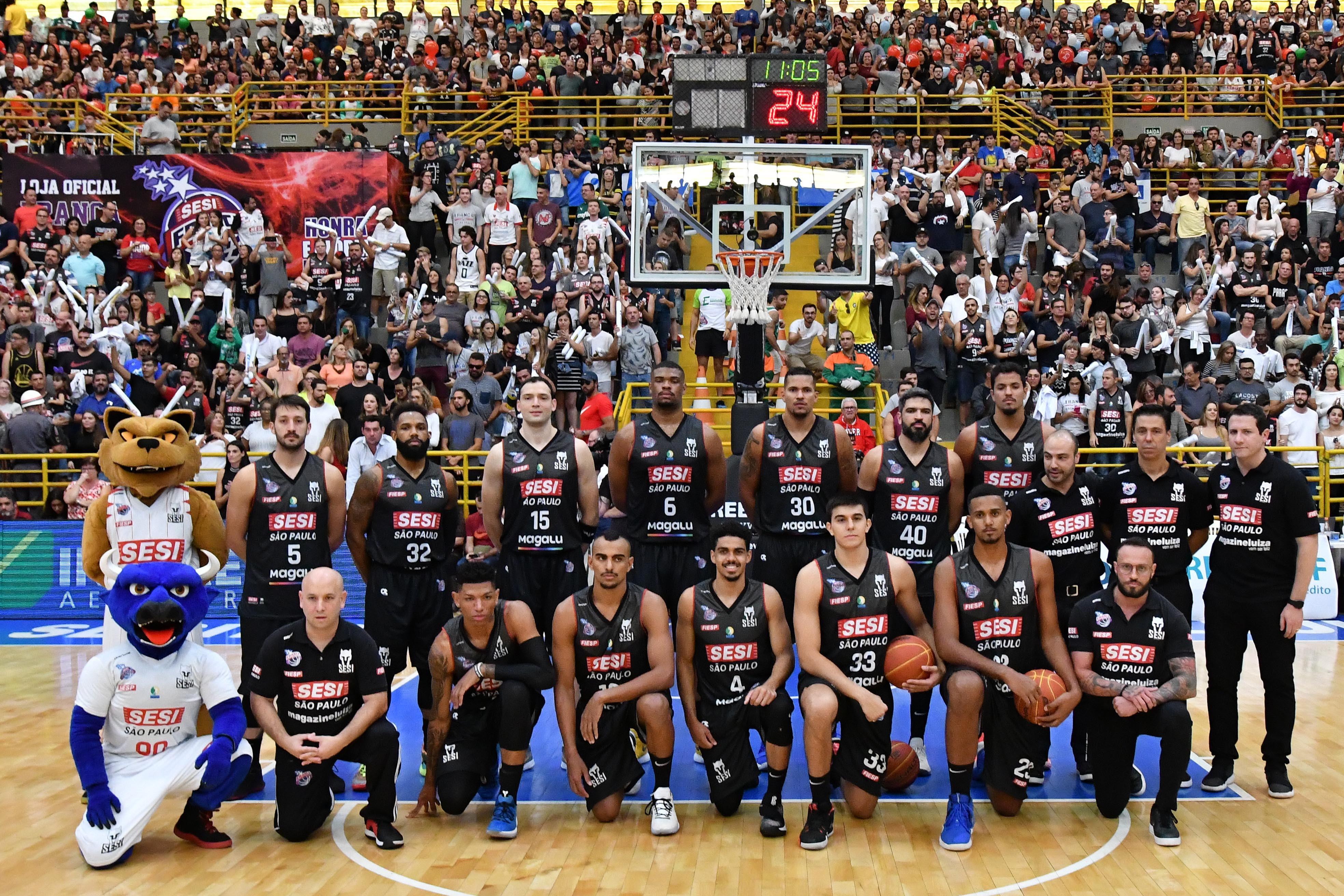 Sesi Franca Basquete enfrenta Brooklyn Nets na pré-temporada 2019-2020 da NBA